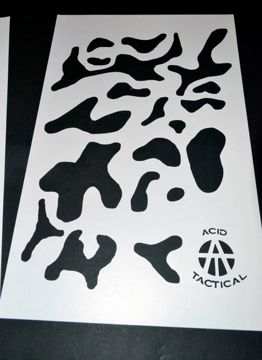 Multicam Camouflage Stencils Printable