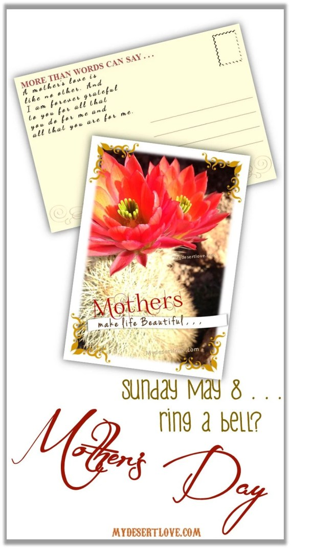Mother's Day Postcard...