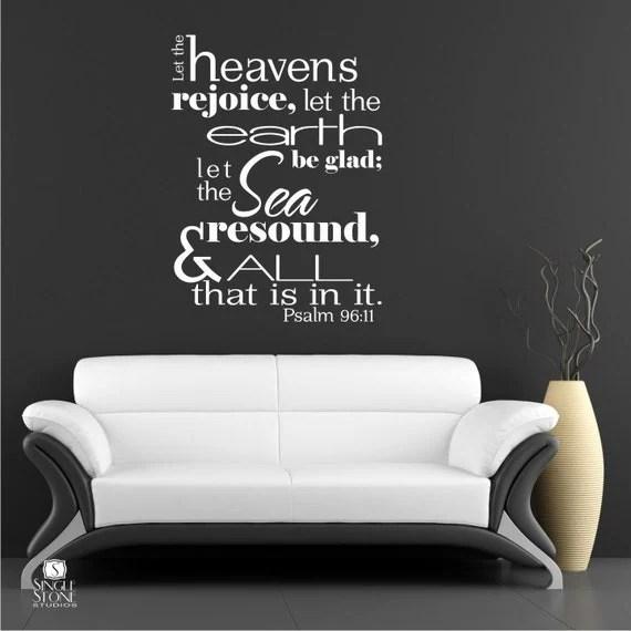Scripture Wall Art Home Decor