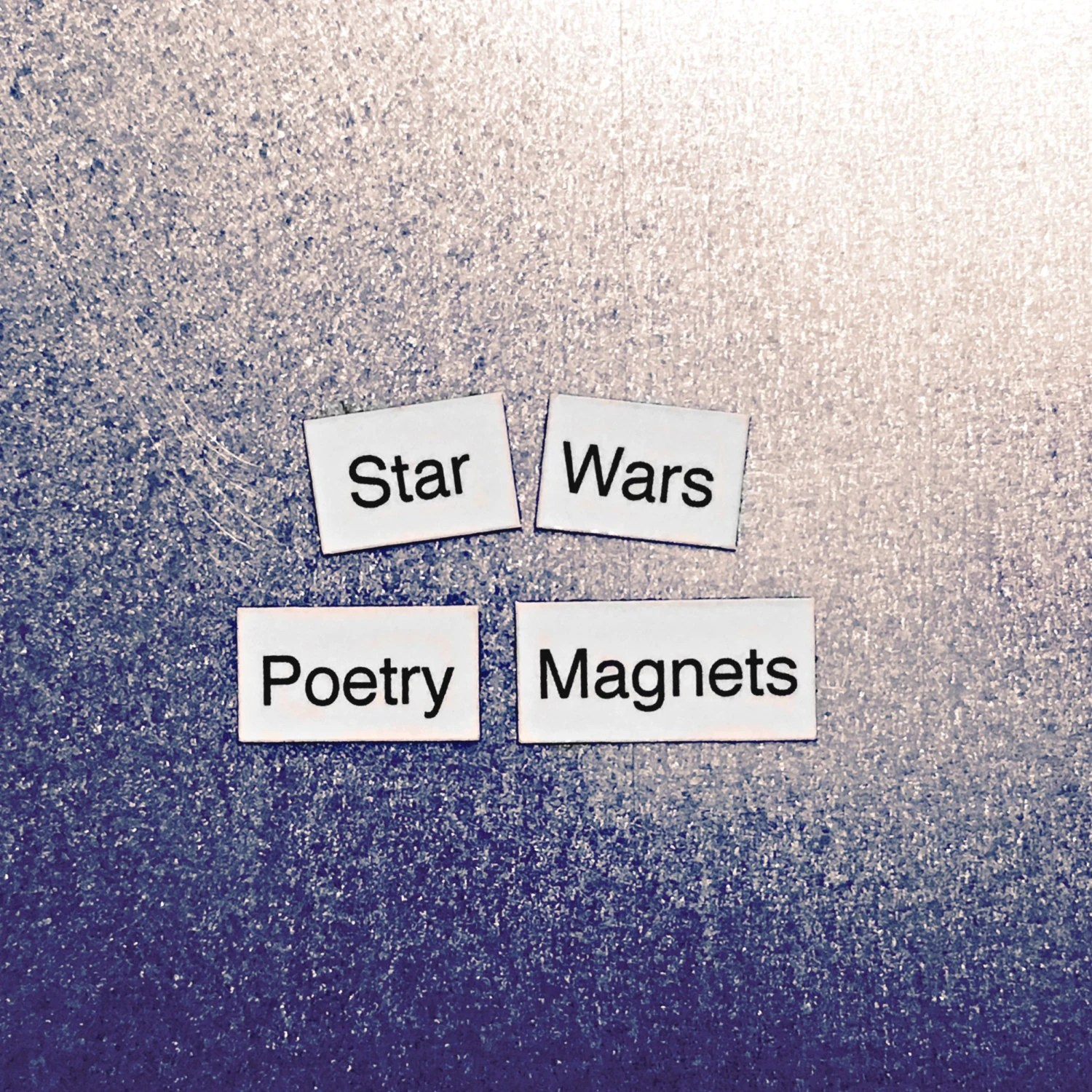 Star Wars Refrigerator Magnets Poetry Word Magnets Free T