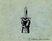 Hand Holding Dagger - Ant...