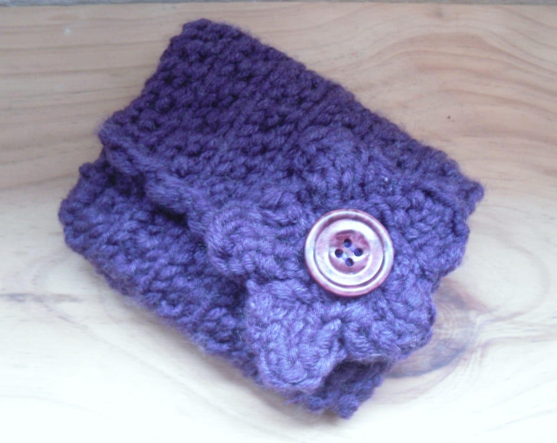 Knitting Pocket Purse Pattern