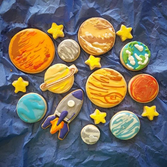 Solar System Cookies
