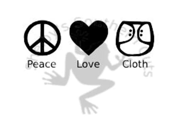 Download Peace Love & Cloth SVG file from ShelbysSouthernCuts on ...
