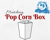 Matching  POP CORN BOX- A...