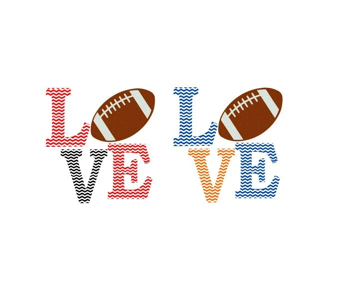 Download Football Chevron Love SVG Studio 3 DXF AI ps and pdf