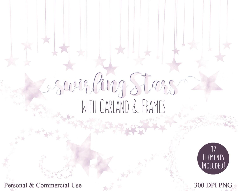Lavender Star Clipart Commercial Use Clip Art Lilac Purple