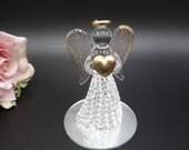 Vintage Crystal Glass Gua...