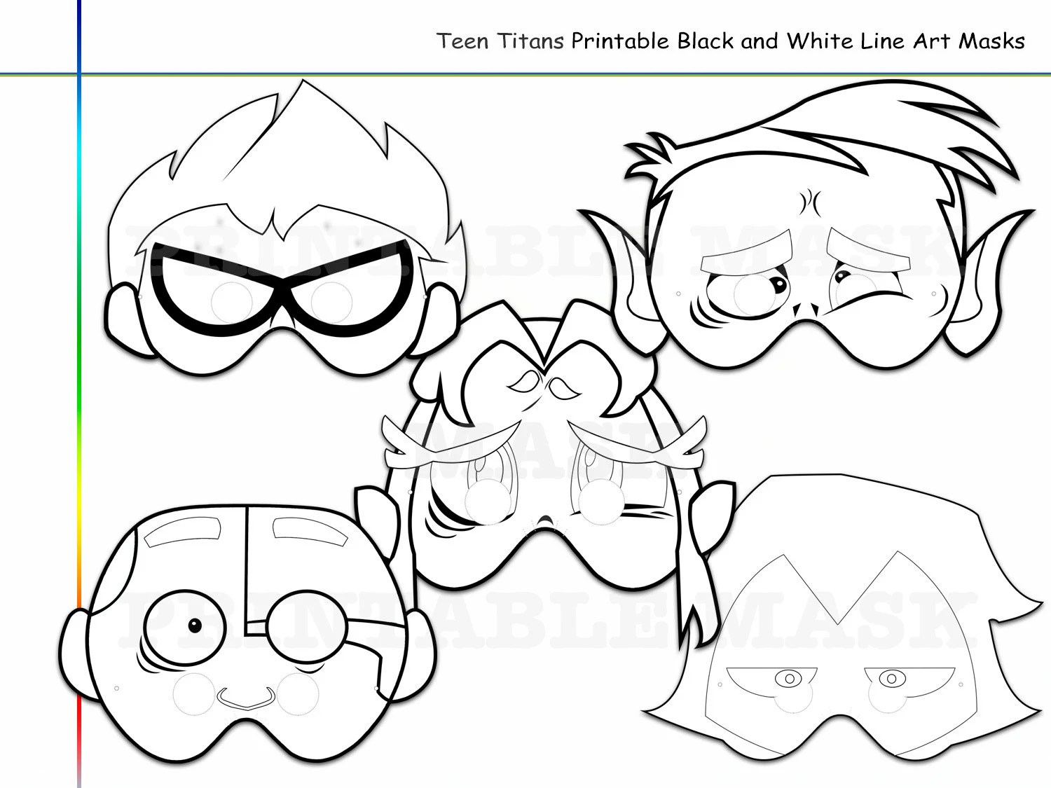 Coloring Pages Superhero Kids Printable Black And White Line