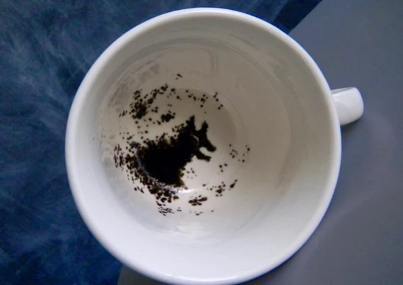 Harry Potter Grim inspired tea cup