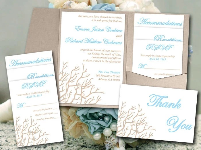 Economical Wedding Invitations