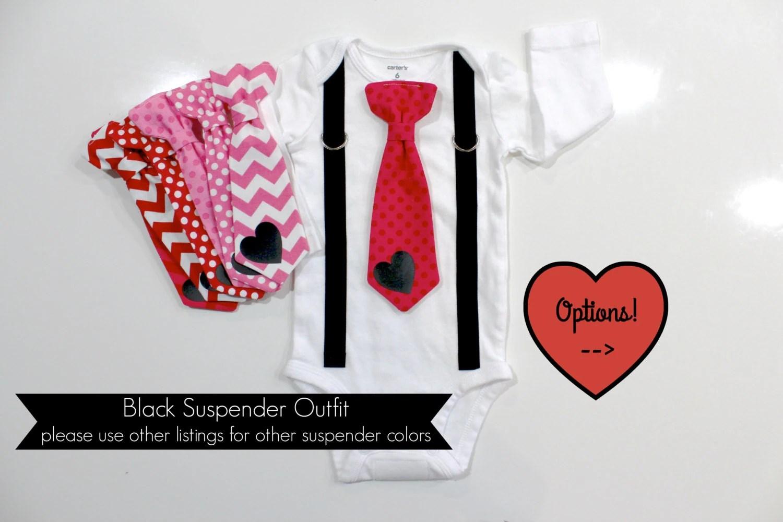 Baby Boy Valentines Day Outfit Newborn Boy First