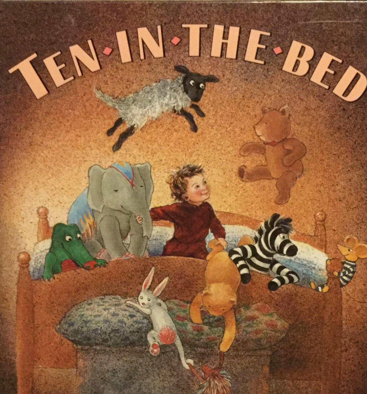 New Vintage Ten In The Bed Hardcover Children S Book
