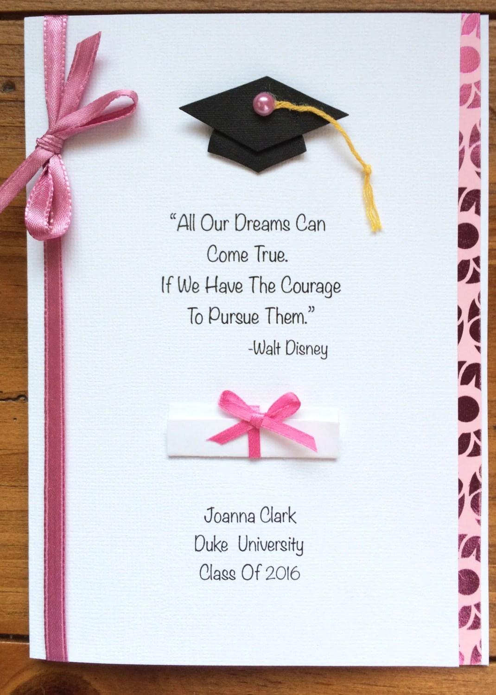 Custom Graduation Cards