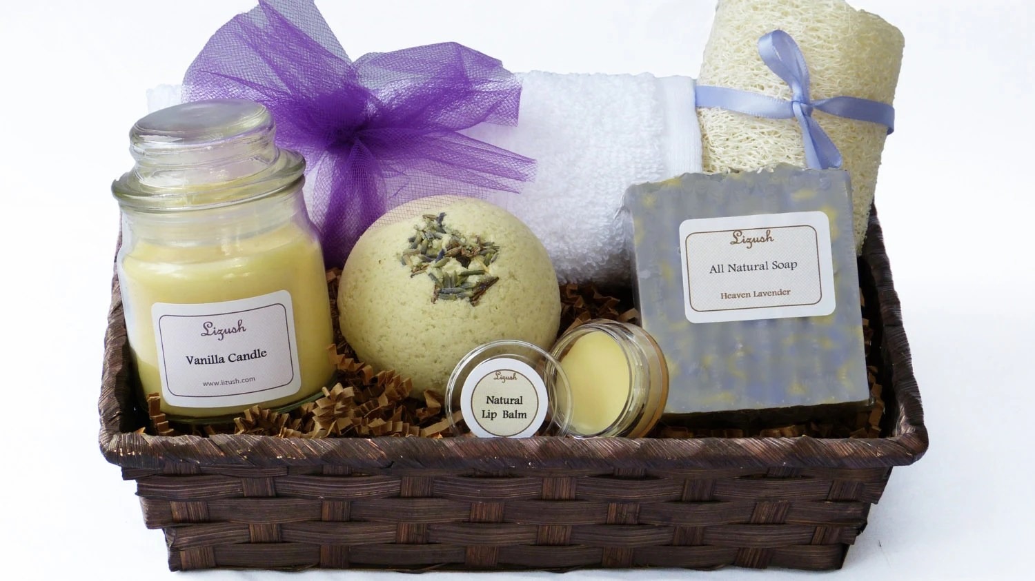 Gift Basket Spa Gift Basket Gift Set Spa Gift Bath And By