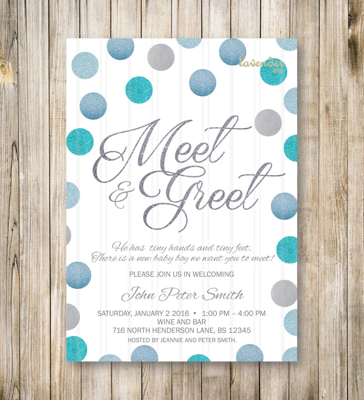 Business Greet Invitation Meet And