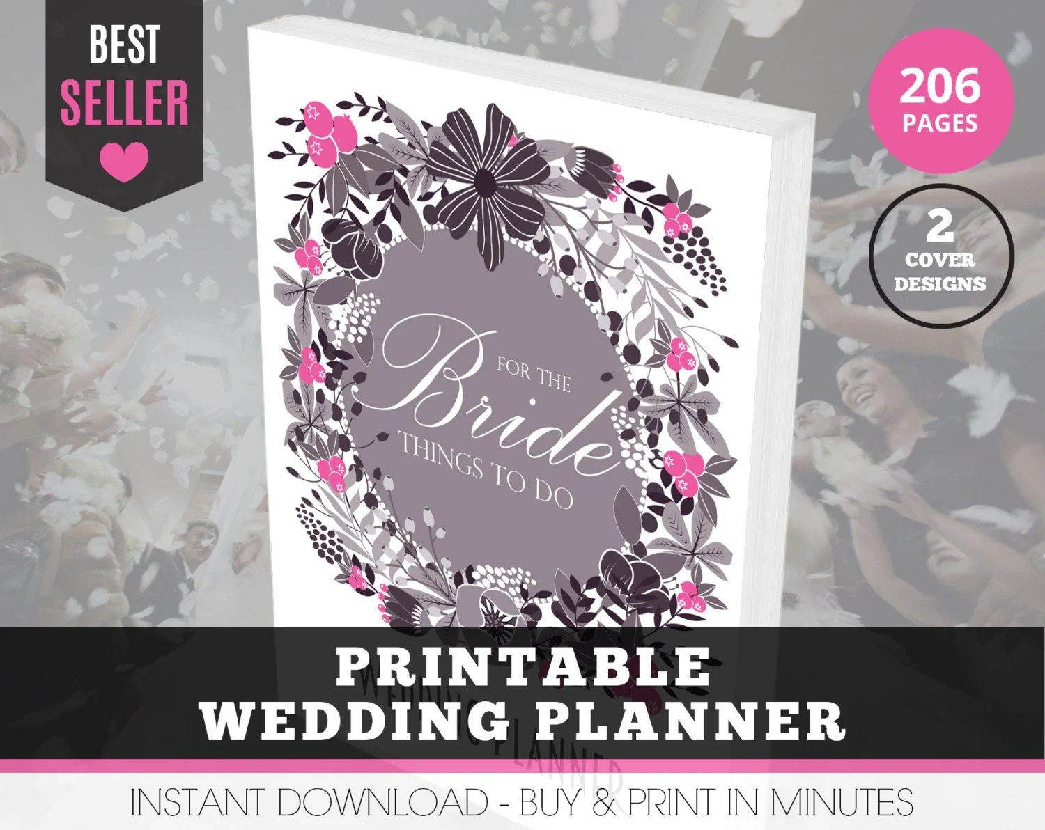 Printable Wedding Binder Wedding Planner By