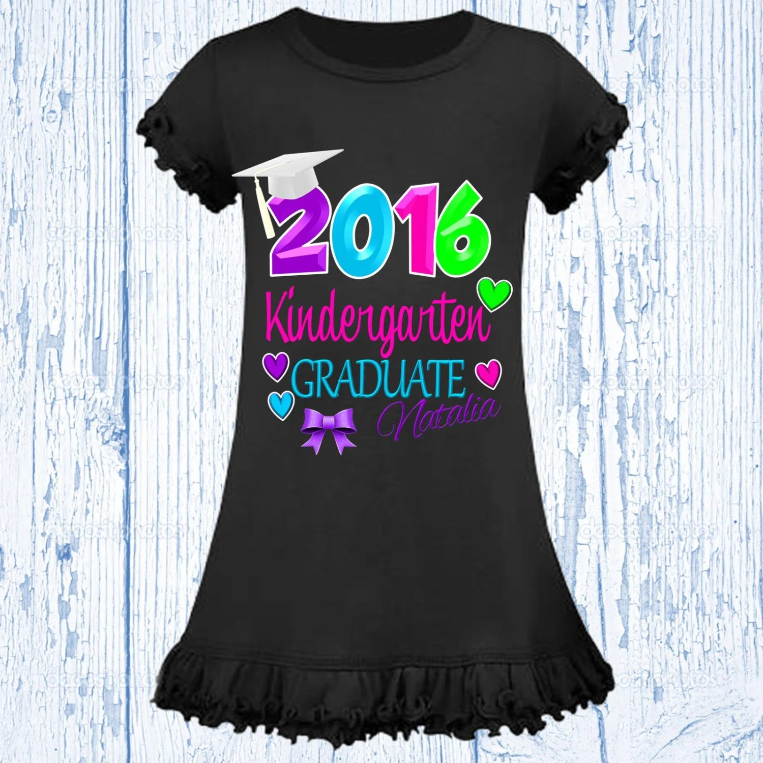 Pre School Graduation Shirt Kindergarten Graduation Shirt