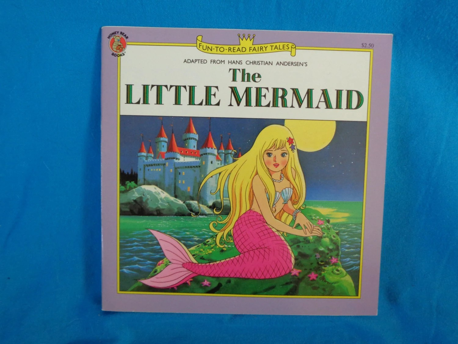 Vintage Fun To Read Fairy Tales The Little Mermaid Book