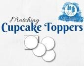 Matching CUPCAKE TOPPERS ...