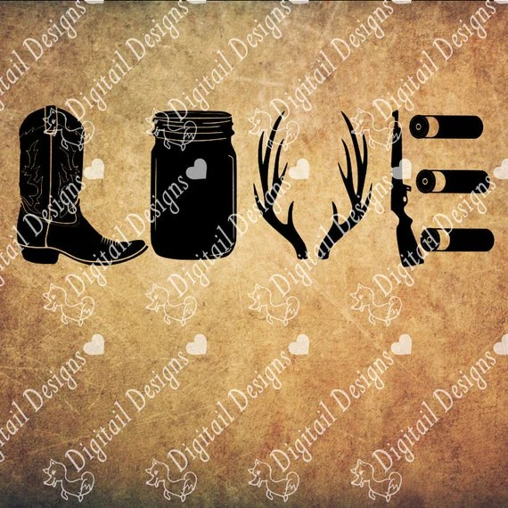 Download Country Love Svg Png Dxf Eps Fcm Cut file for Silhouette