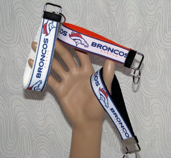 Wristlet Key Fob - NFL Denver Broncos