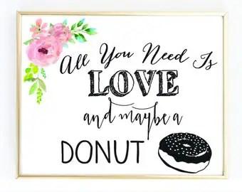 Download Donut sign | Etsy