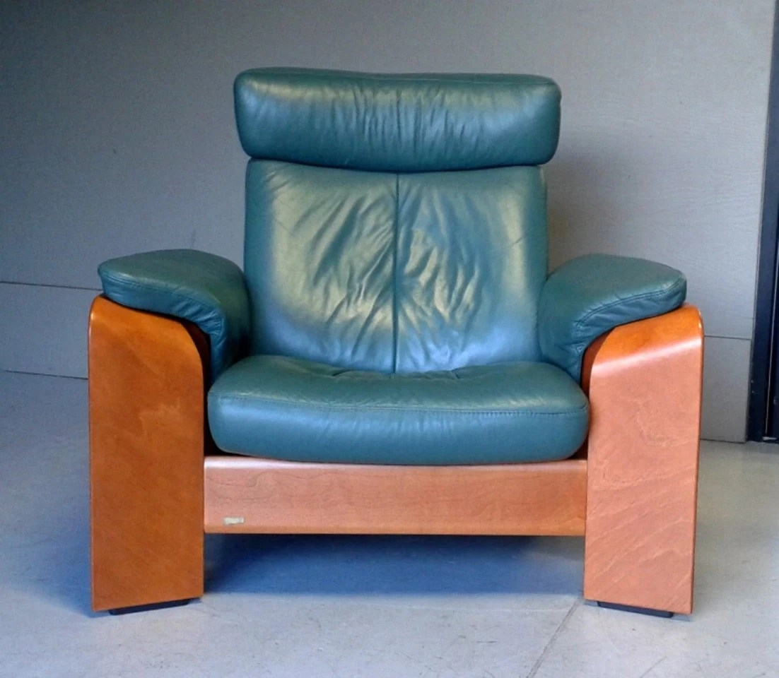 Ekornes Stressless Pegasus Scandinavian Chair Recliner And
