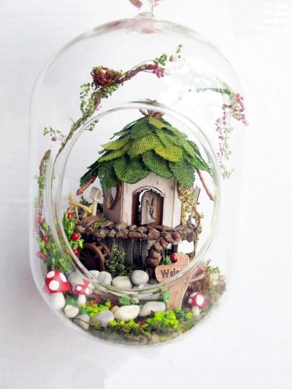 DIY fairy terrarium