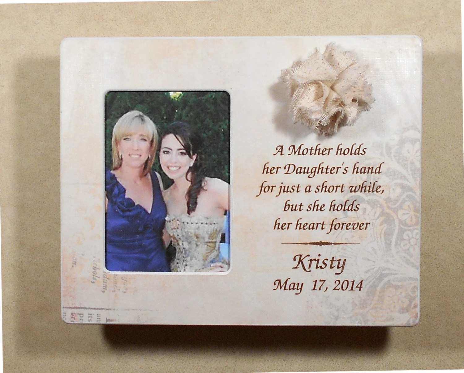 Wedding Gift Mother Bride Wedding Gift To Mom Personalized