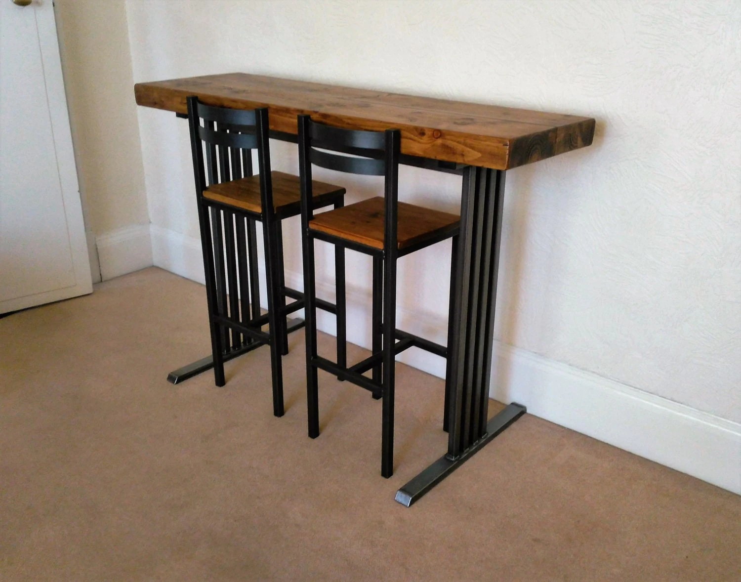 Hand Crafted Bar Stools