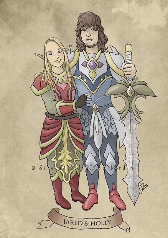 Custom RPG portrait!