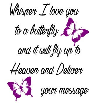 Download Whisper I Love You to a Butterfly and it will fly by ...