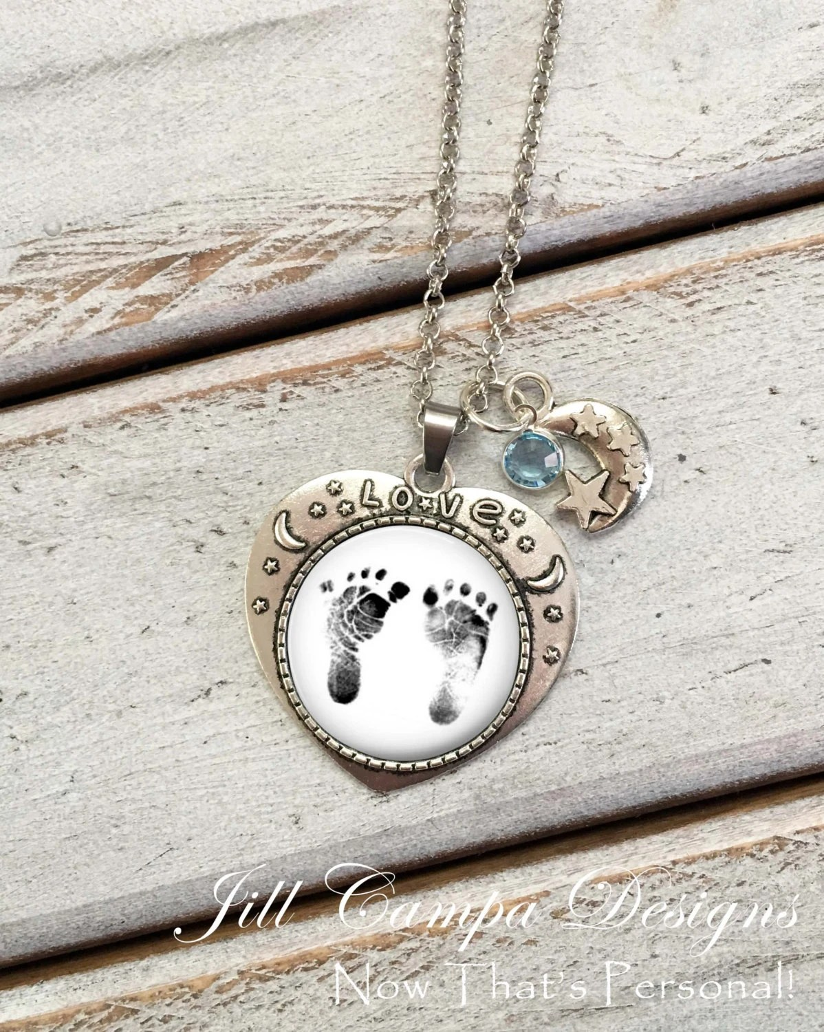 And Moon I Baby Necklace You Back Love