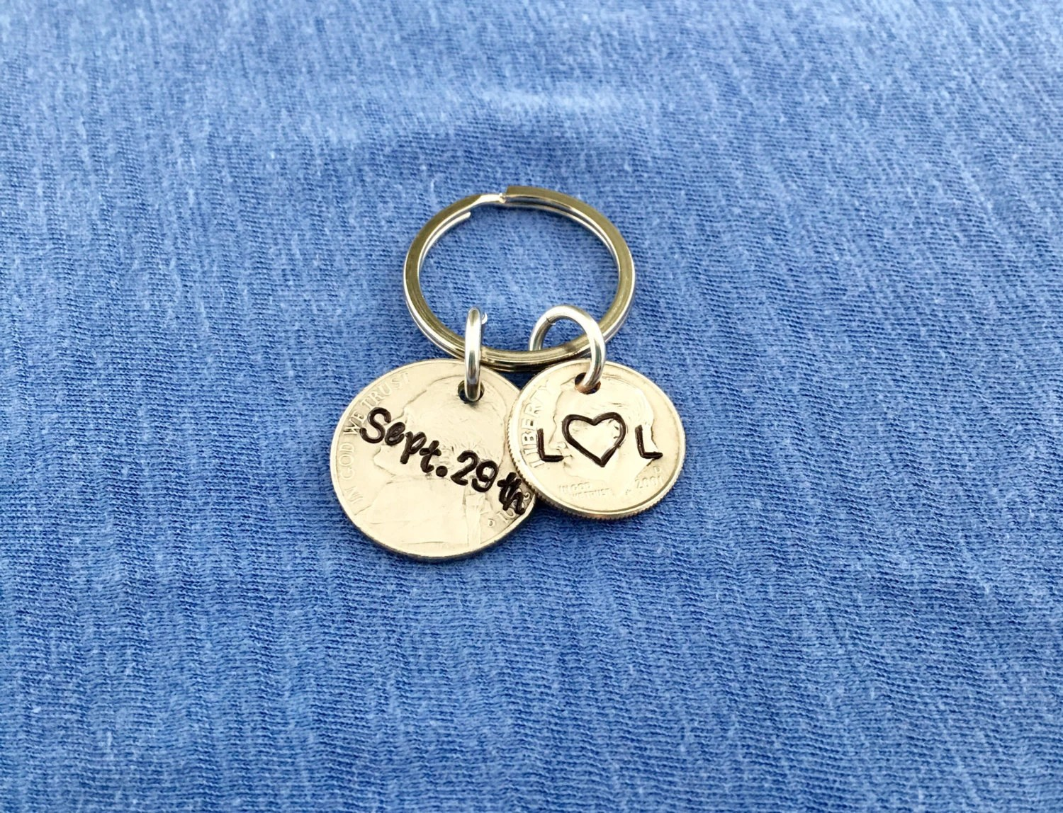 15th Anniversary Gift For Him 15 Year By HandStampedTrinkets