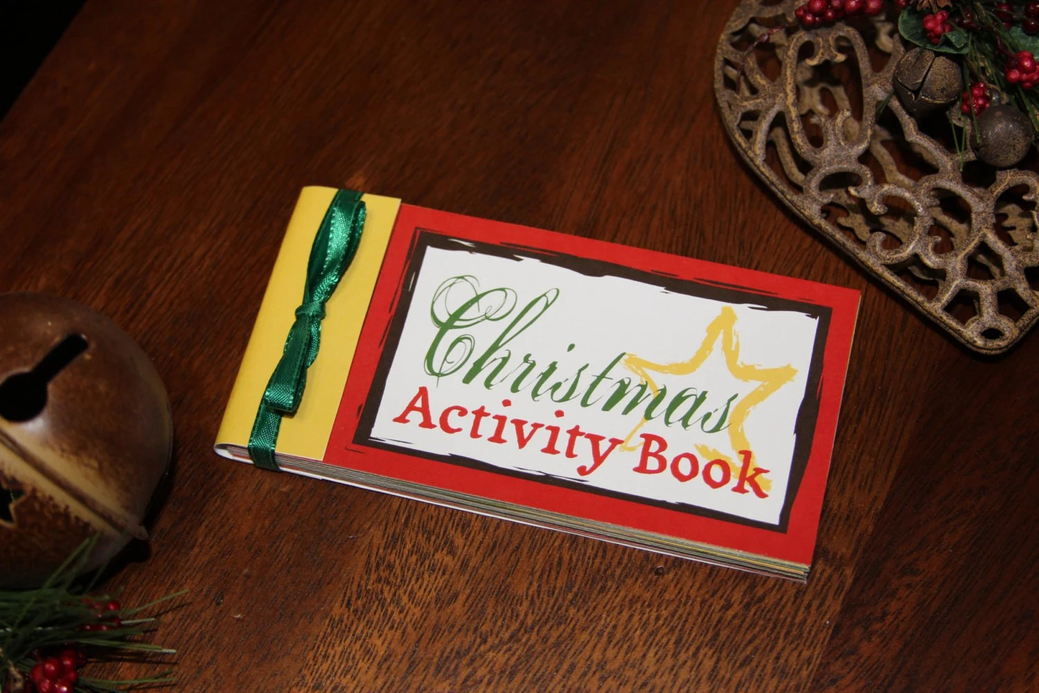Coupon Book Christmas Activity Book Instant Download