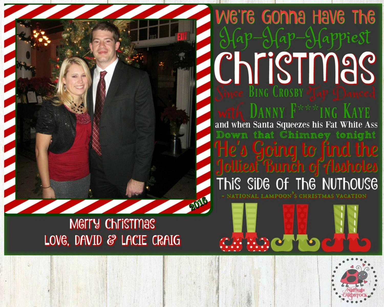National Lampoons Christmas Vacation Christmas Card