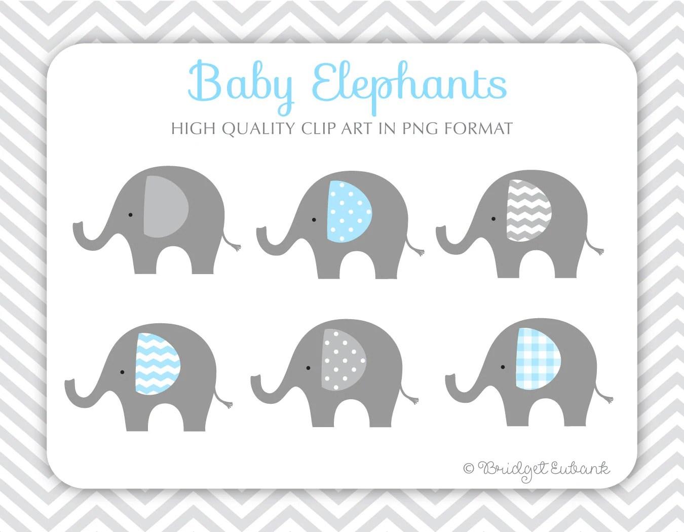 Baby Elephant Clip Art Elephant Clip Art Baby Shower Clip