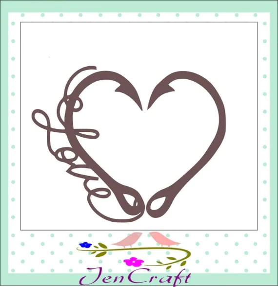 Download Interlocking Hook svg Heart Love Cutting File by ...