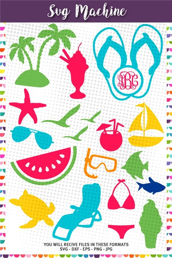 Download Summer SVG Cut Files Beach svg cut files for Cricut