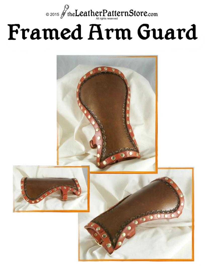 Free Archery Arm Guard Pattern