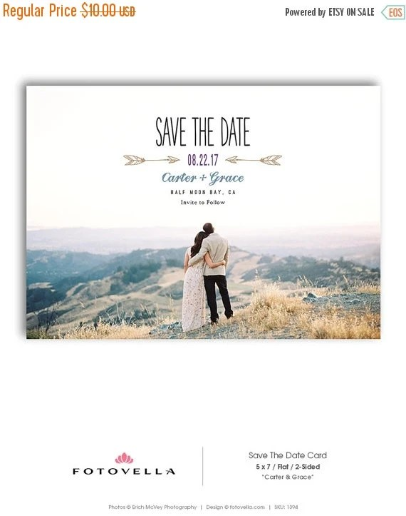 Save Date Wedding Announcements