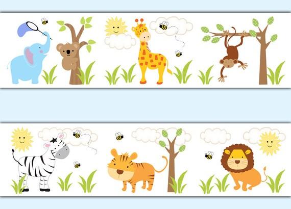 Safari Can Animals Borders Be Typed Cartoon