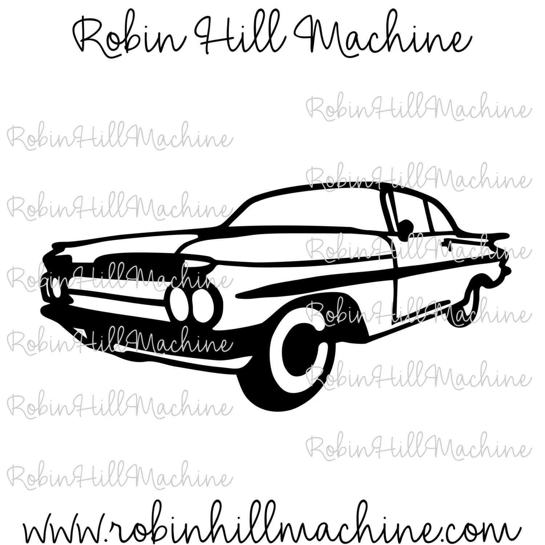 Chevy Chevrolet Impala Dxf File Svg Files Plasma Cutting
