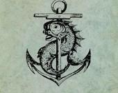 Anchor and Mythical Sea D...