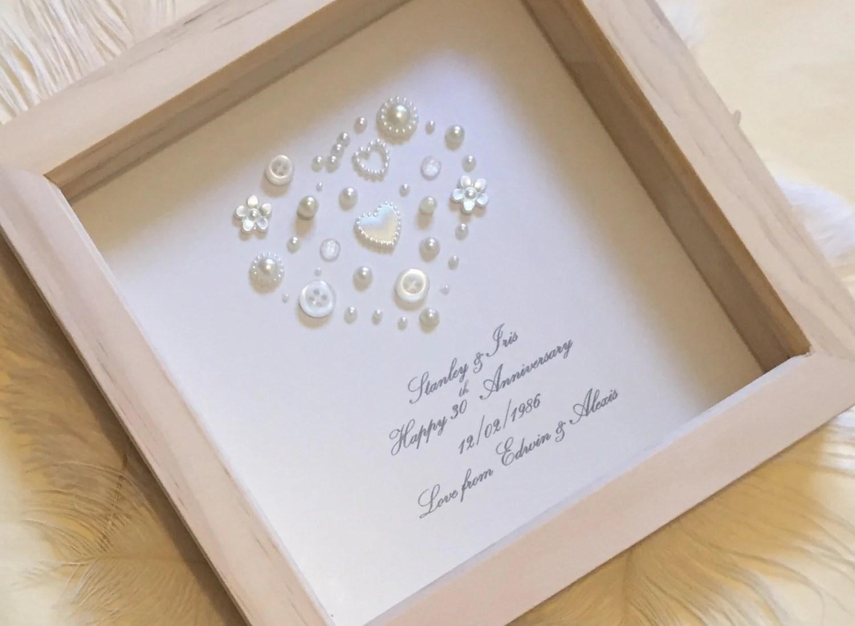30th Pearl Wedding Anniversary Gift Pearl Wedding Present