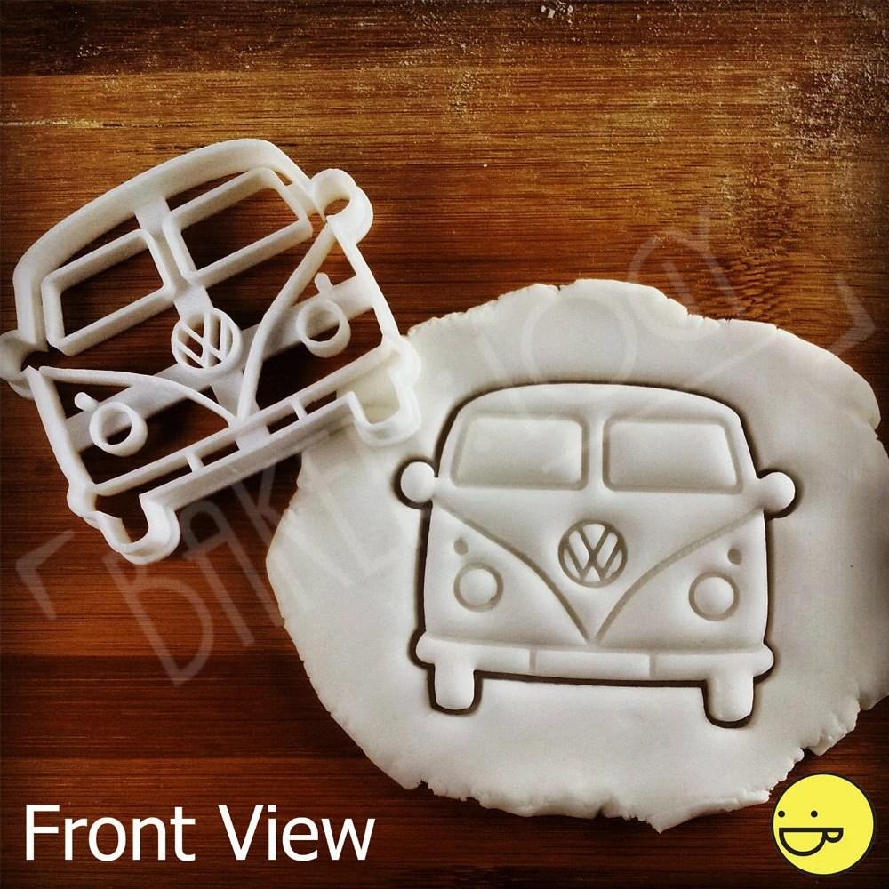 VW Camper Van Inspired Cookie Cutter Biscuit Cutter