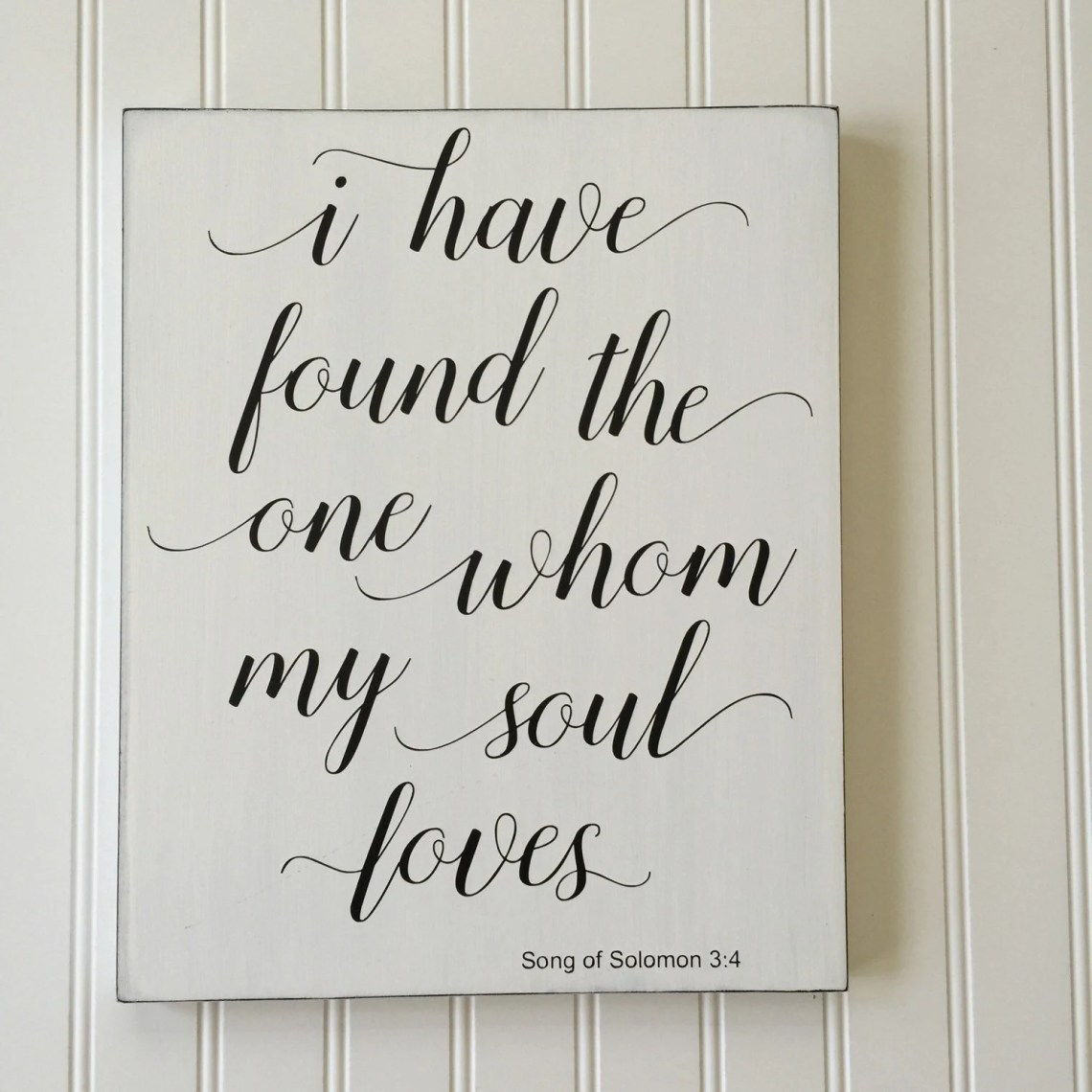 Download I Have Found the One Whom my Soul Loves Sign by ...