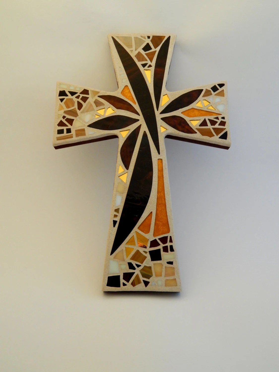 Black And Silver Crosses
