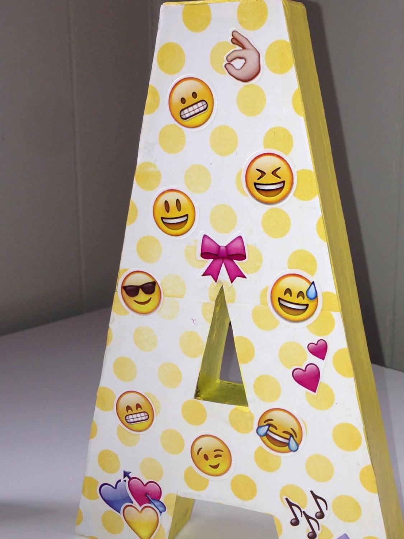 Birthday Emoji Letter T Kids Disney Themed Abc